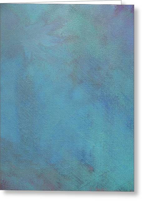 Abstract Rain Greeting Cards - Wind Greeting Card by Lindie Racz