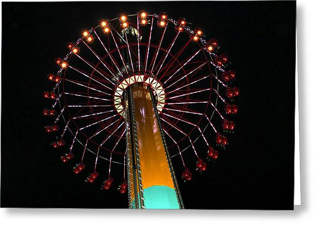 Berry Greeting Cards - Wind Seeker Greeting Card by Heidi Smith