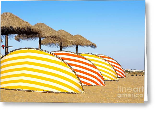 Algarve Greeting Cards - Wind Shields Greeting Card by Carlos Caetano