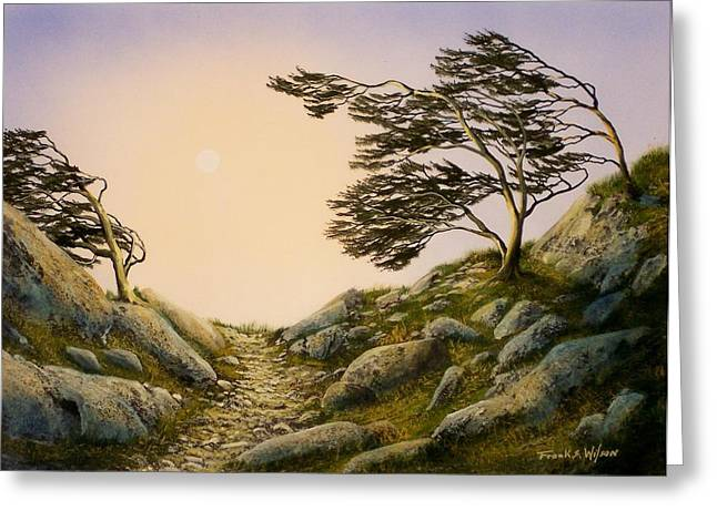 Pacific Crest Trail Greeting Cards - Windblown Warriors Greeting Card by Frank Wilson