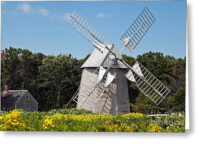 Drummers Photographs Greeting Cards - Windmill  Greeting Card by John Greim
