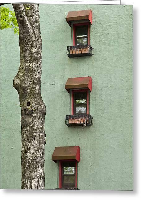 Window Haiku Greeting Card by Art Ferrier