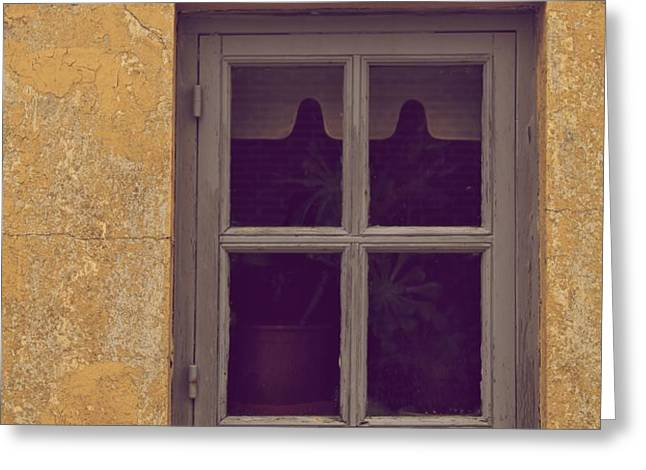 Window Greeting Card by Odd Jeppesen