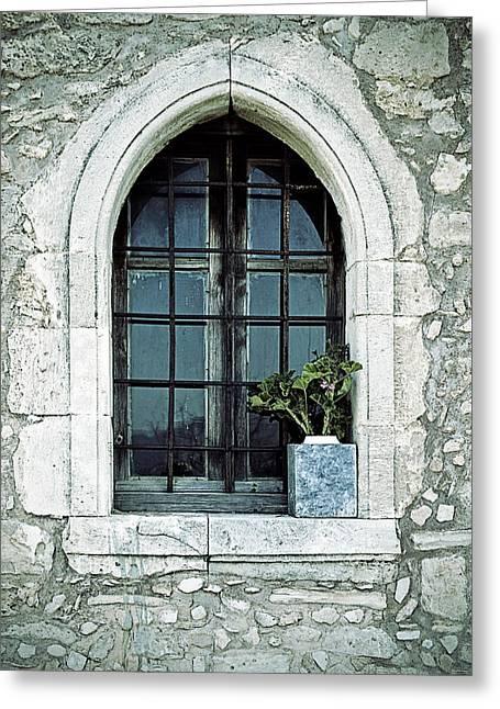 Window Of A Chapel Greeting Card by Joana Kruse
