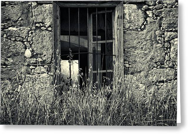 window of memories Greeting Card by Stylianos Kleanthous