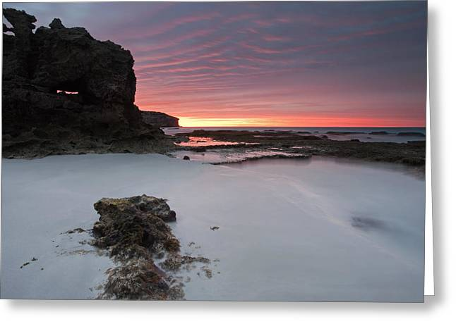 Kangaroo Island Greeting Cards - Window on Dawn Greeting Card by Mike  Dawson
