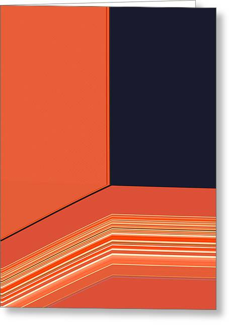 Tangerines Greeting Cards - Window Seat Greeting Card by Bonnie Bruno