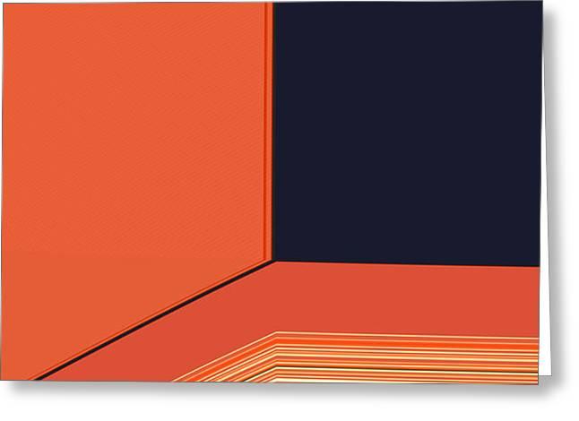 Window Seat Greeting Card by Bonnie Bruno