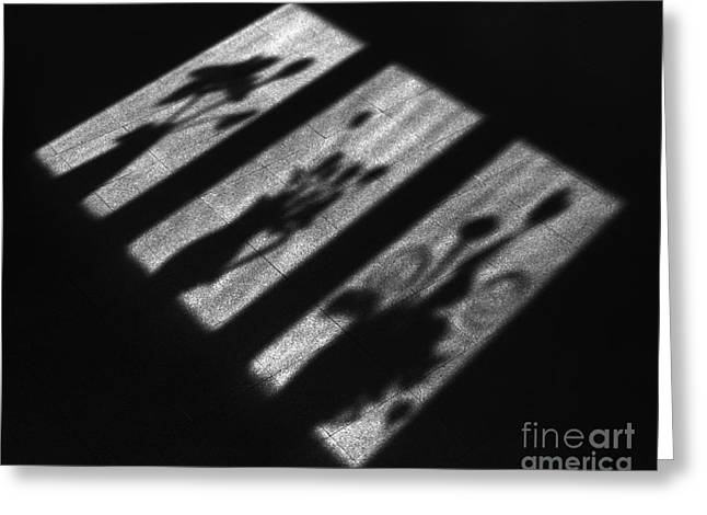 Lilli Greeting Cards - Window Shadows Greeting Card by Aldo Cervato