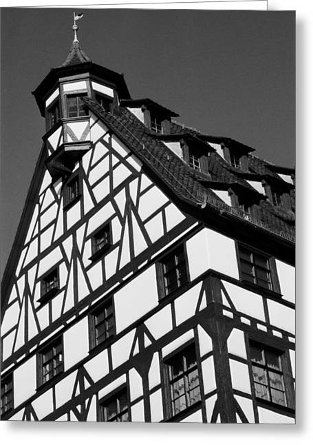 Geschichte Greeting Cards - Windows ... Greeting Card by Juergen Weiss