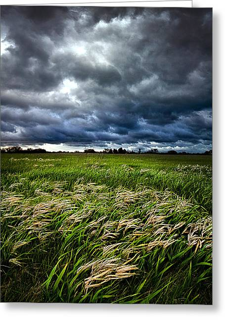 Summer Storm Photographs Greeting Cards - Winds of Change Greeting Card by Phil Koch