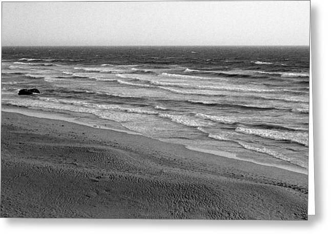 Breezy Greeting Cards - Windy Surf Greeting Card by Mark Greenberg