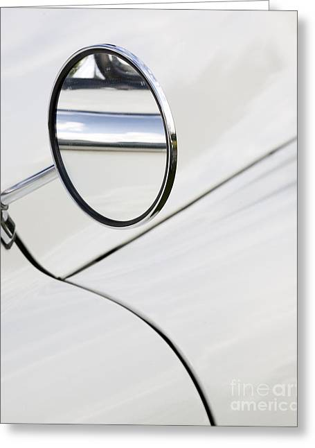 Wing Mirror Greeting Cards - Wing it Greeting Card by Chris Dutton