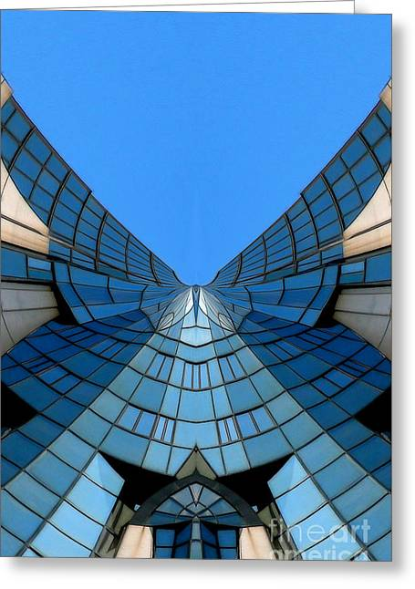 Archifou Greeting Cards - Winged - Archifou 16 Greeting Card by Aimelle