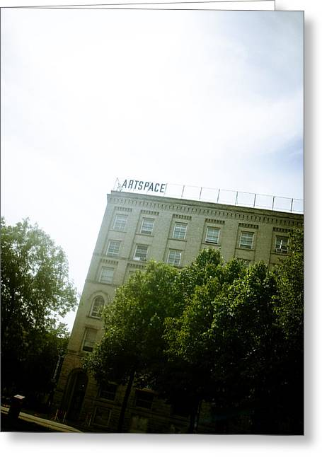 Photo Gallery Digital Greeting Cards - Winnipeg Artspace Greeting Card by Michael Knight