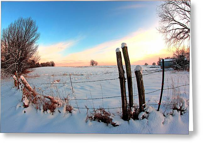 Fuad Azmat Greeting Cards - Winter 1 Greeting Card by Fuad Azmat