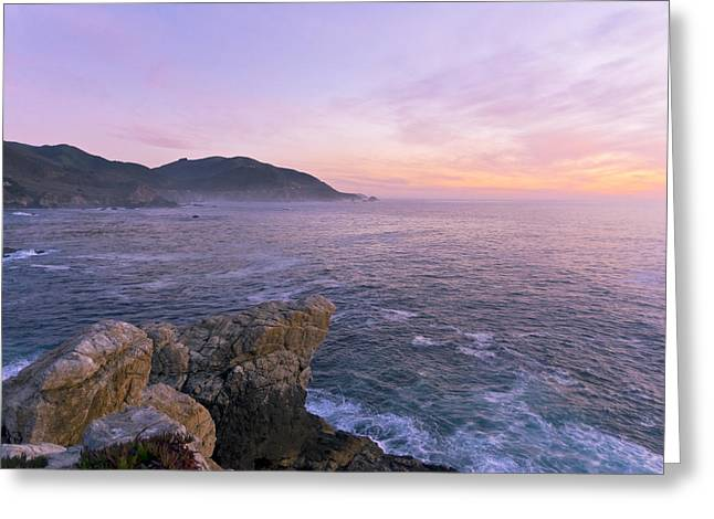 Big Sur Ca Greeting Cards - Winter Color In Big Sur Greeting Card by Priya Ghose