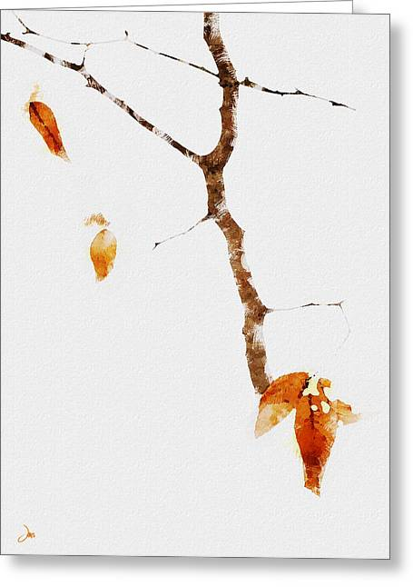 Winter Interludes Greeting Card by Ron Jones