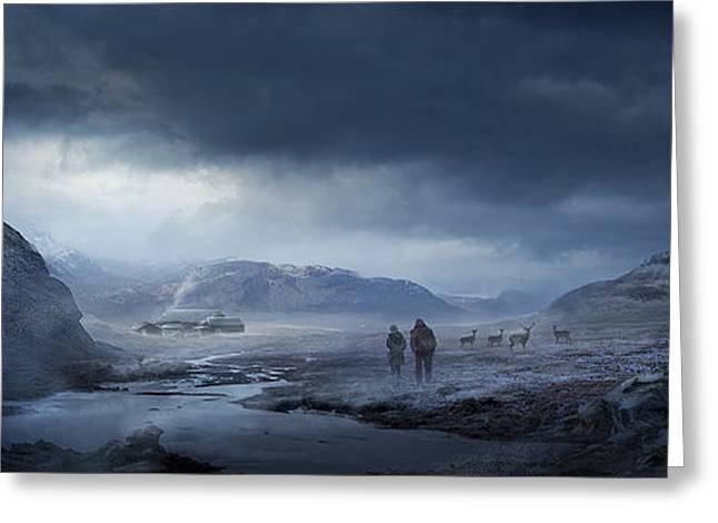 Winter Greeting Card by Philip Straub