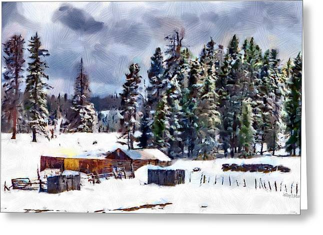 Winter Seclusion Greeting Card by Jeff Kolker