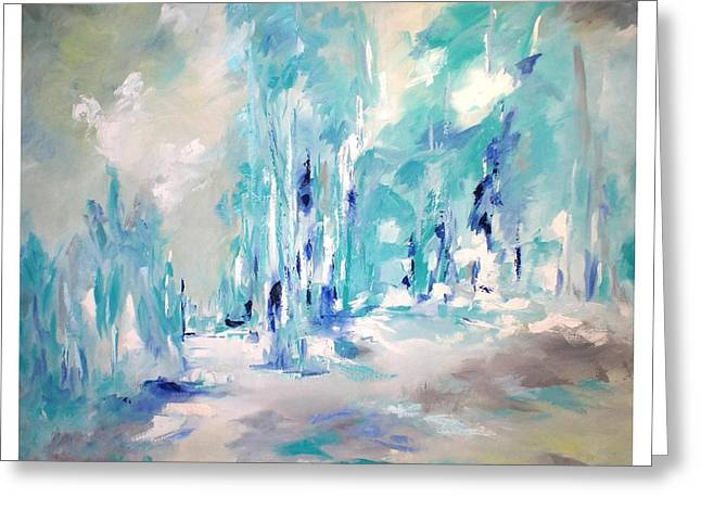 Winter Symphony Greeting Card by Sue Prideaux