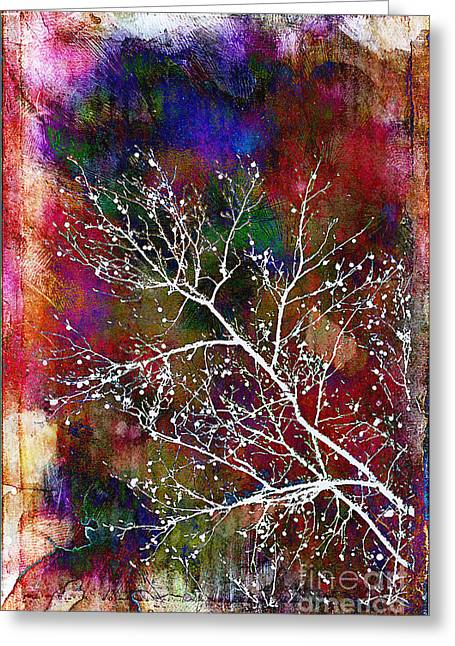 Hannukah Greeting Cards - Winter Wishes Greeting Card by Judi Bagwell
