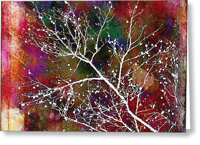 Winter Wishes Greeting Card by Judi Bagwell