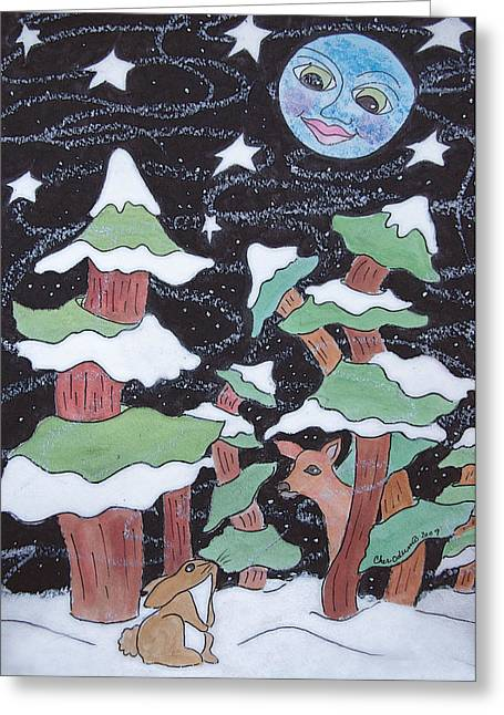 Winter Solstice Greeting Cards Greeting Cards - Winter Wonder Greeting Card by Dan Stone