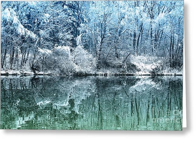 Winter Photos Greeting Cards - Winter Wonderland Greeting Card by Jutta Maria Pusl