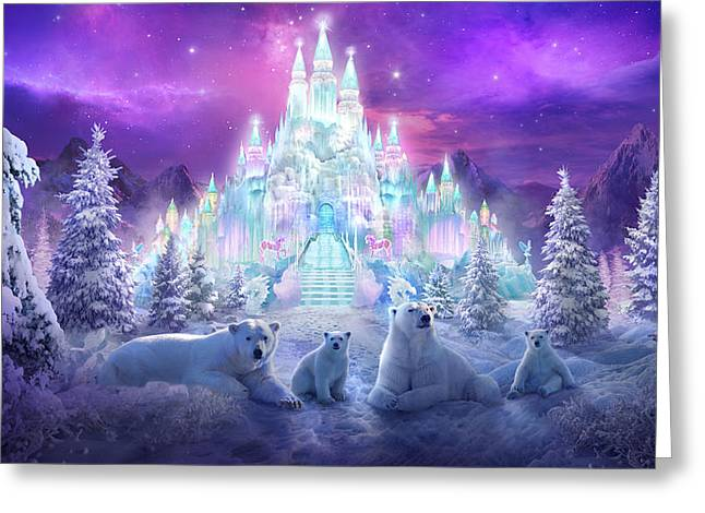 Recently Sold -  - Fantasy Tree Greeting Cards - Winter Wonderland Greeting Card by Philip Straub
