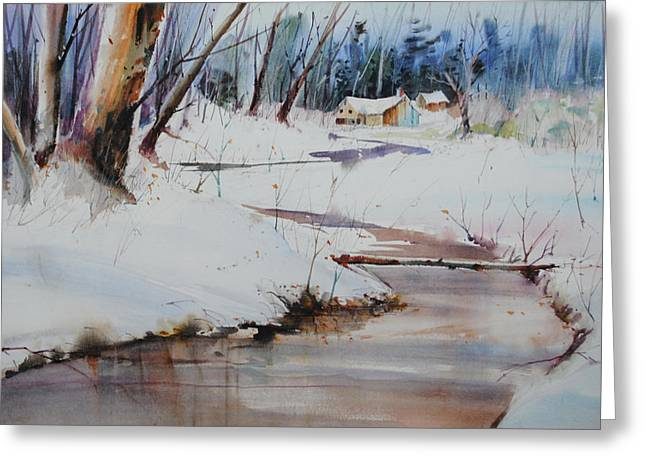 Winter Wonders Greeting Card by P Anthony Visco