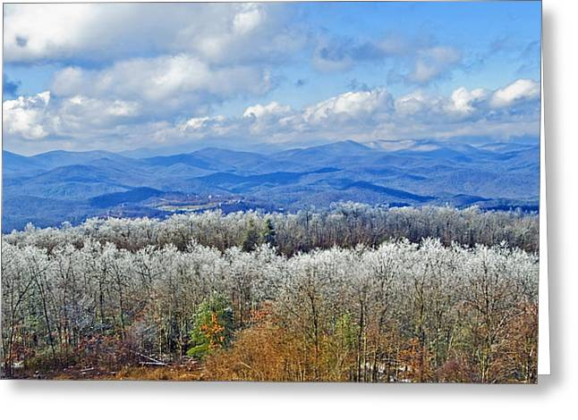 Susan Leggett Greeting Cards - Winters End Greeting Card by Susan Leggett