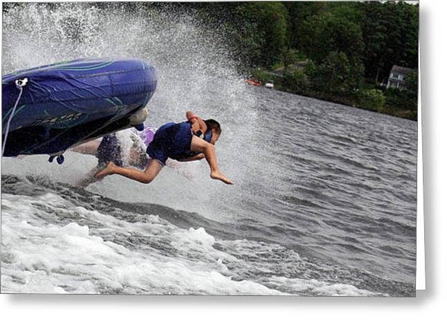 Wipe Out Greeting Cards - Wipeout Greeting Card by Christopher McPhail