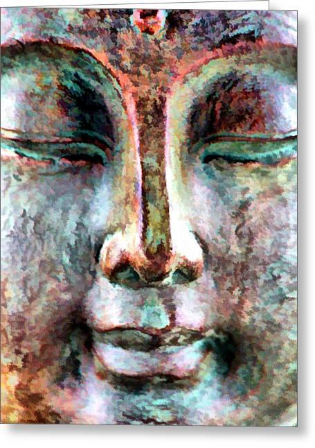 Wisdom Greeting Card by Brian Davis