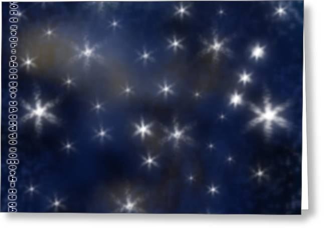 Wish Upon A Star Greeting Card by Clayton Bruster