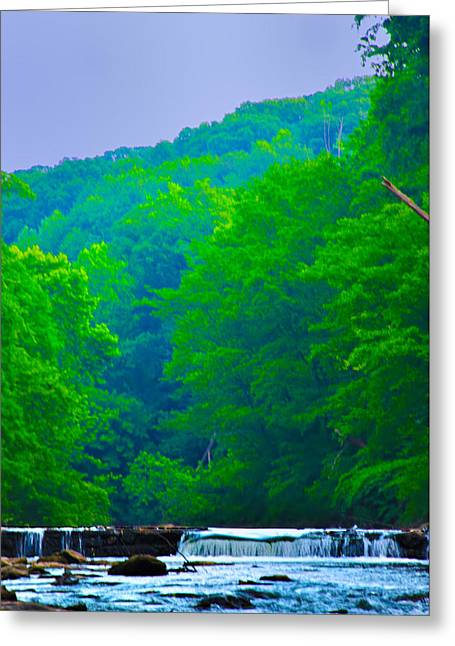 Stream Digital Art Greeting Cards - Wissahickon Creek Greeting Card by Bill Cannon