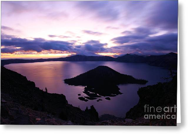 Craters Greeting Cards - Wizard Sunrise Greeting Card by Adam Jewell