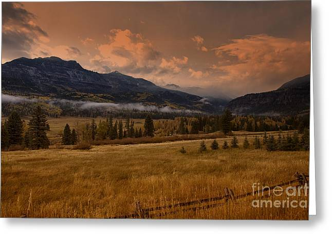 Wolf Creek Pass Greeting Card by Timothy Johnson