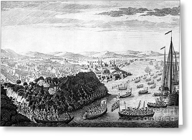 General Bradley Greeting Cards - Wolfe At Quebec, 1759 Greeting Card by Granger