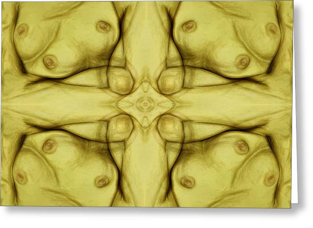 Halinar Greeting Cards - Women In Yellow Greeting Card by Joe Halinar