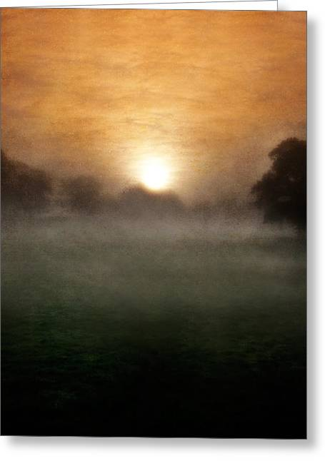 Sunrise Pyrography Greeting Cards - Wonder Greeting Card by Ian David Soar