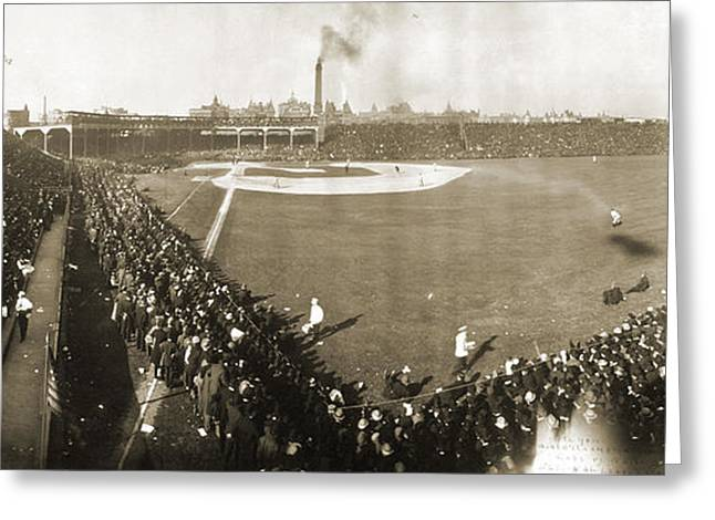 World Series, 1906 Greeting Card by Granger