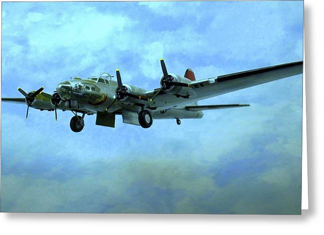 Airplane Engine Greeting Cards - World War II Airplanes Greeting Card by Randall Weidner