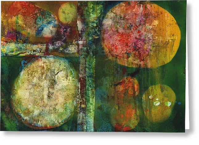 Inner Reality Greeting Cards - Worlds Apart Greeting Card by Henry Rowland