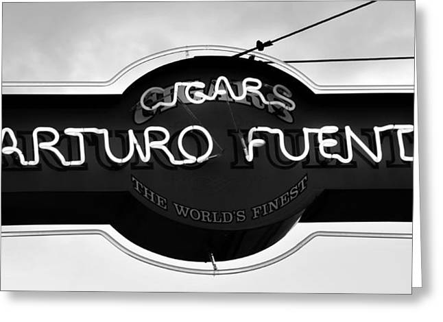 Cuban Greeting Cards - Worlds Finest Cigar Greeting Card by David Lee Thompson