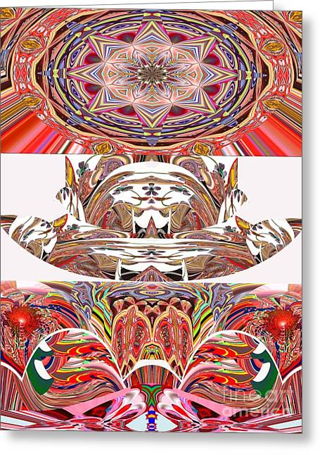 Reverence Digital Art Greeting Cards - Worshiping You  Greeting Card by Rick Wolfryd