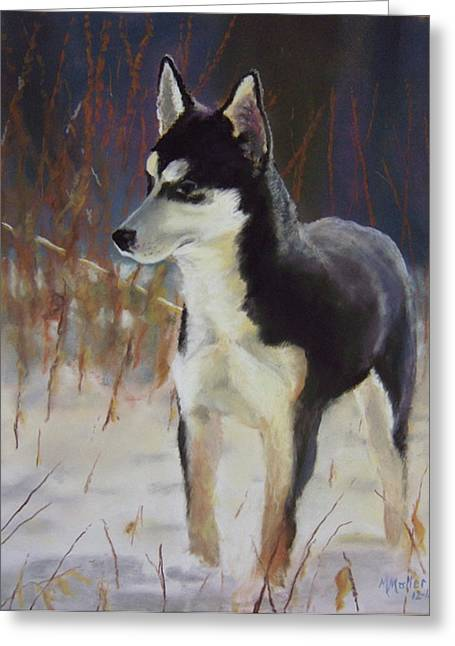 Husky Pastels Greeting Cards - Would Have Been Greeting Card by Marcus Moller