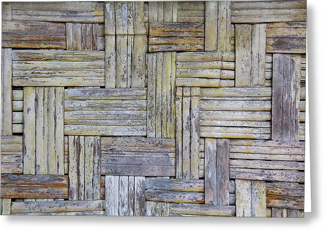 Top Seller Greeting Cards - Woven 2 Greeting Card by Jennifer  Bright