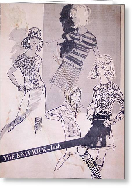 Wwd Sportswear Greeting Card by Susan Dade