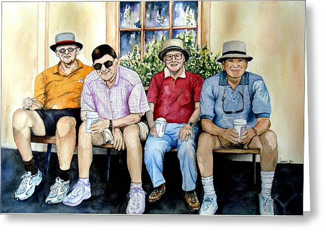 Wwii Heroes Greeting Card by Candy Yu